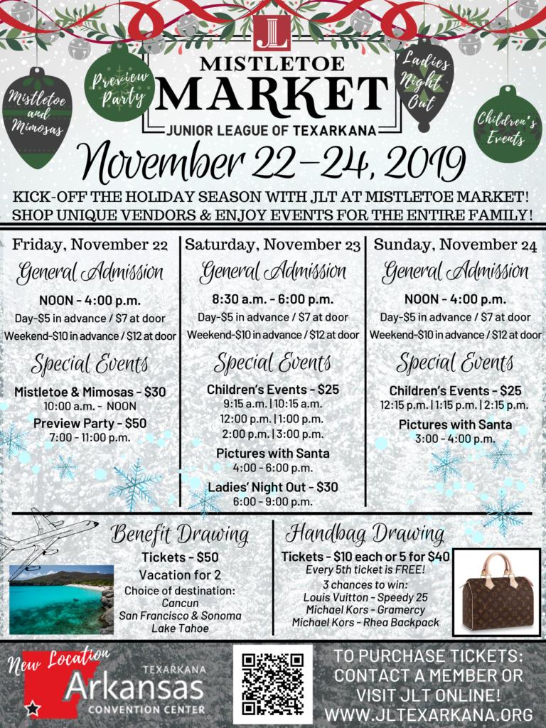 Mistletoe Market Www Jltexarkana Org